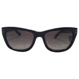 Ted Baker Black Floral Print Sunglasses